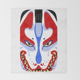 Inari Fox Throw Blanket