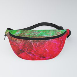 Industrial Rainbow Fragment Fanny Pack