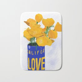 California LOVE Bath Mat