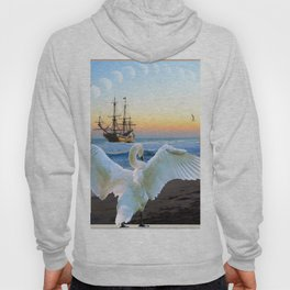 In the sunset beach c Hoody