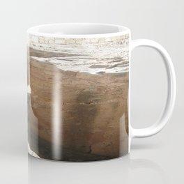 Color Travel Art Rock and a hard place #1 Coffee Mug