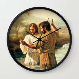 John The Baptist Wall Clock