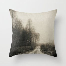 Snowfalls Gone By Throw Pillow