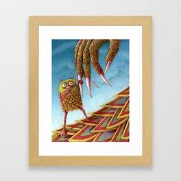 The Baby Monster Framed Art Print