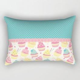 Sweet Cupcakes Rectangular Pillow