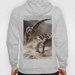Dinosaurs Jurassic fighting Hoody
