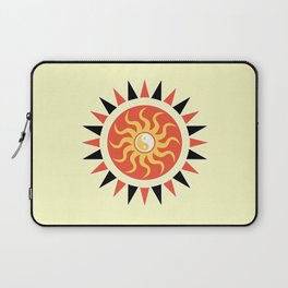 Yin yang sunshine Laptop Sleeve