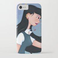 downton abbey iPhone & iPod Cases featuring Abbey by Katherine Galo
