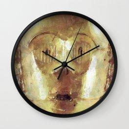 C3PO Retro Droid Robot Starwars Wall Clock