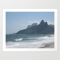 rio Art Prints featuring Rio by Caniiiia