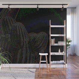 Jimi Hendrix Inspired Cactus Wall Mural
