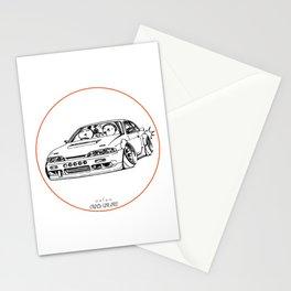 Crazy Car Art 0201 Stationery Cards