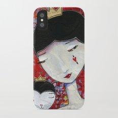 Queen of Hearts iPhone X Slim Case