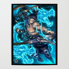 hanzo over Poster