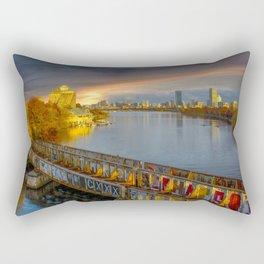 Graffiti bridge Rectangular Pillow