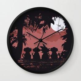 3 Monkeys and 1 Legend Wall Clock