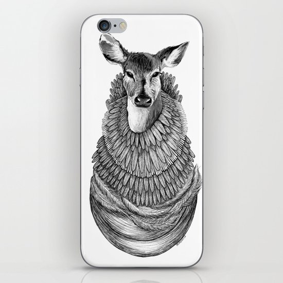Feathered Deer.  iPhone & iPod Skin