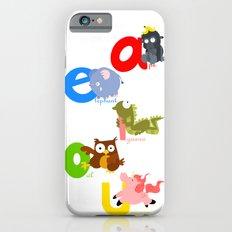 vowels Slim Case iPhone 6s