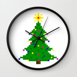 Chritmas tree Wall Clock