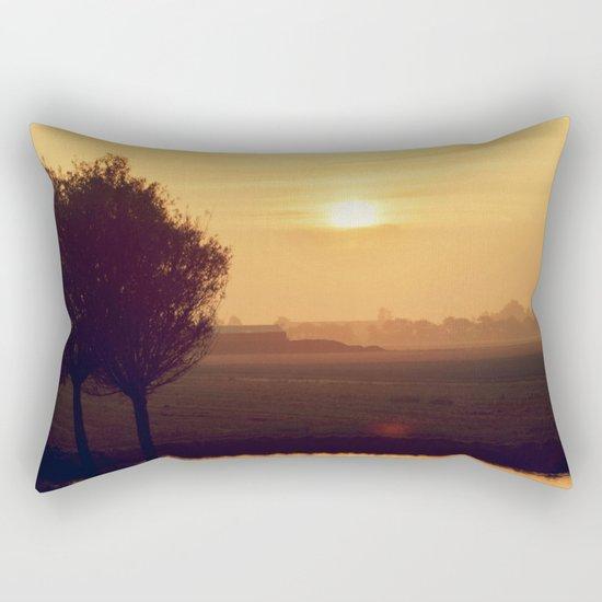 City Sunlight #4 Rectangular Pillow