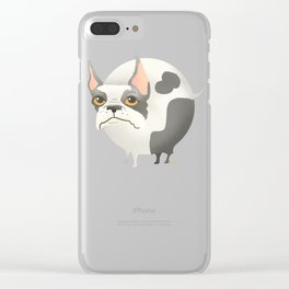 Ball Dog Clear iPhone Case