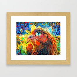 I Have My Eye On You Framed Art Print