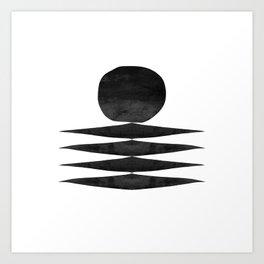 Mono 1 Art Print
