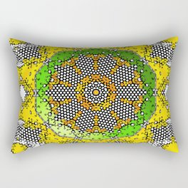 kaleidoscope board roller Rectangular Pillow