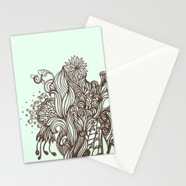 Mint Chocolatey  Stationery Cards