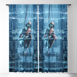 Virtual Dreams Reloaded Blackout Curtain