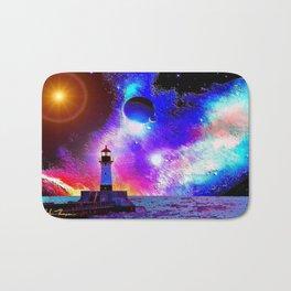 Lighthouse to the stars Bath Mat