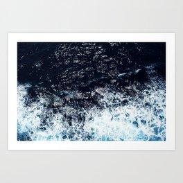 Aegean Ocean Art Print