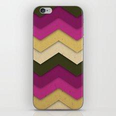Flower Field Chevron iPhone & iPod Skin