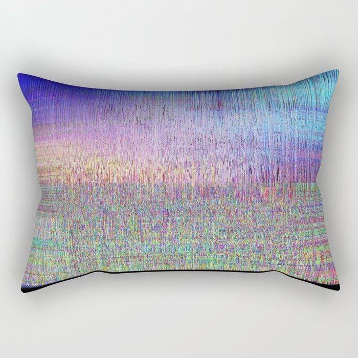 GLTCH! Rectangular Pillow