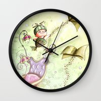 journey Wall Clocks featuring Journey by  • naylapulga