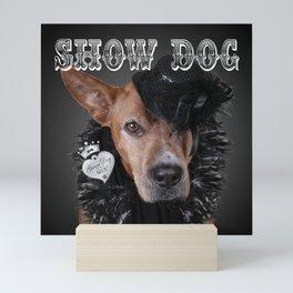 ShowDog Mini Art Print