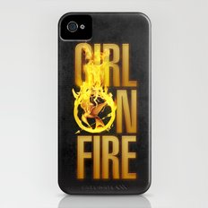 Hunger Games - Girl on Fire Slim Case iPhone (4, 4s)