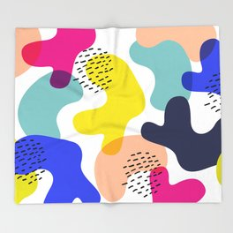Fluorescent Adolescent Throw Blanket