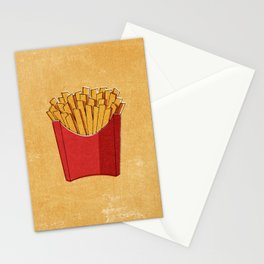FAST FOOD / Fries Stationery Cards