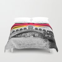 venice Duvet Covers featuring Venice by Tisha Jordan Scott