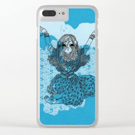 Mori Girl Winter Clear iPhone Case