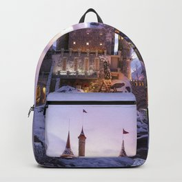Magnificent Fantasy Winter Castle Dreamland Ultra HD Backpack