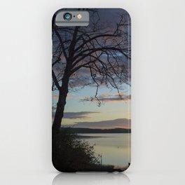 Lake Quinault Sunset, Washington iPhone Case