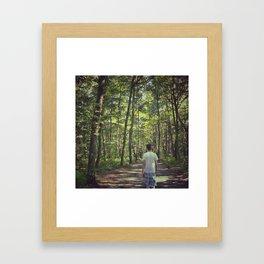 Forêt Framed Art Print