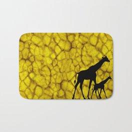 Giraffiti Bath Mat