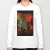 central park Long Sleeve T-shirts featuring Owls of Central Park by Joe Ganech