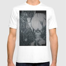 Head Taker Mens Fitted Tee SMALL White