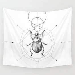 Dots, Lines & Beetle Wall Tapestry