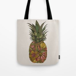 Pineappleflower Tote Bag