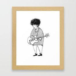 Shoegazer random Framed Art Print